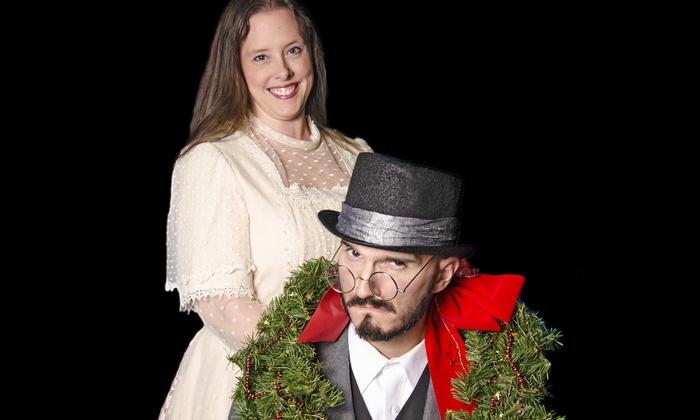 """A Popcorn Hat Christmas Carol"" - Gamut Theatre Group: ""A Popcorn Hat Christmas Carol"" on December 2–19, 10 a.m. on Wednesdays and Thursdays, and 1 p.m. on Saturdays"