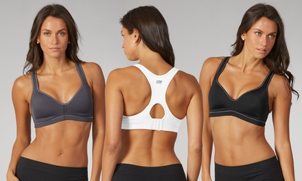 Marika Tek Women's High Impact Moisture-Wicking Sports Bras (2-Pack)