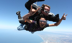Skydive Monterey Bay: Weekday or Weekend VIP Tandem Jump for One, Two, or Four at Skydive Monterey Bay (Up to 39% Off)
