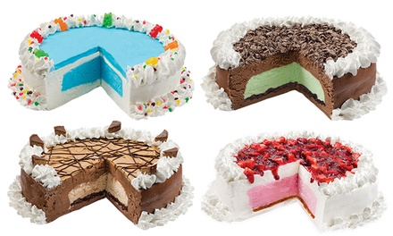 One Ice-Cream Cake or Four Ice-Cream Cones at Marble Slab (Up to 39% Off)