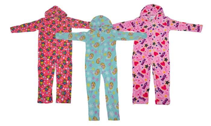 pyjama combinaison polaire disney groupon shopping. Black Bedroom Furniture Sets. Home Design Ideas