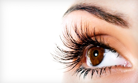 Full Set of Eyelash Extensions with Optional Refill at iLash & Skincare (Up to 62% Off)