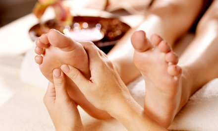 60-Minute Full-Body Massage or 60-Minute Reflexology Treatment at Luv Yu Foot Spa's Happy Feet (Up to 50% Off)