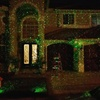 Waterproof Red and Green Projector Garden Lights