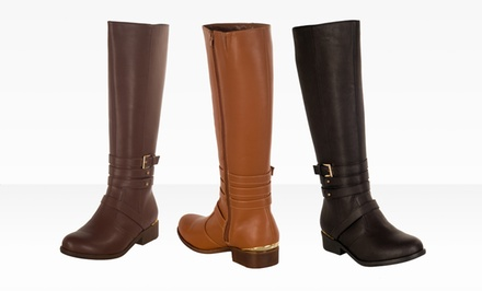 Modern Rush Katie Riding Boots. Multiple Colors Available. Free Returns.