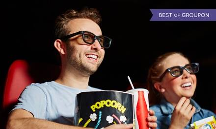 Movie and Popcorn for Two or Four with Sodas or Well Drinks at The Harper Theater (Up to 41% Off). Four Options.