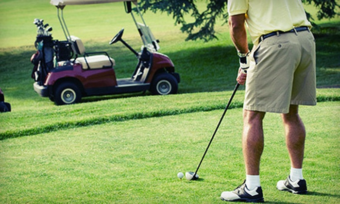 Hidden Hills of Shellbrook Golf Course - Shellbrook: 18-Hole Round of Golf with Carts and Range-Ball Buckets for Two or Four at Hidden Hills of Shellbrook (Up to 63% Off)