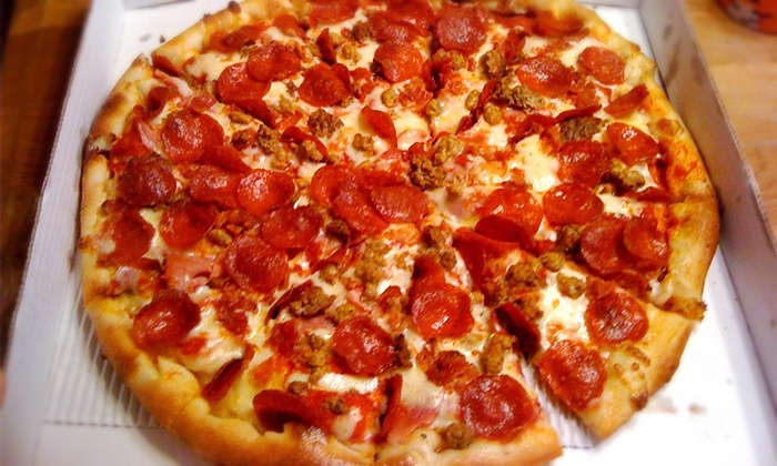 Greek's Pizzeria - Multiple Locations: $11 for Two Groupons, Each Good for $10 Worth of Pizza at Greek's Pizzeria ($20 Total Value)
