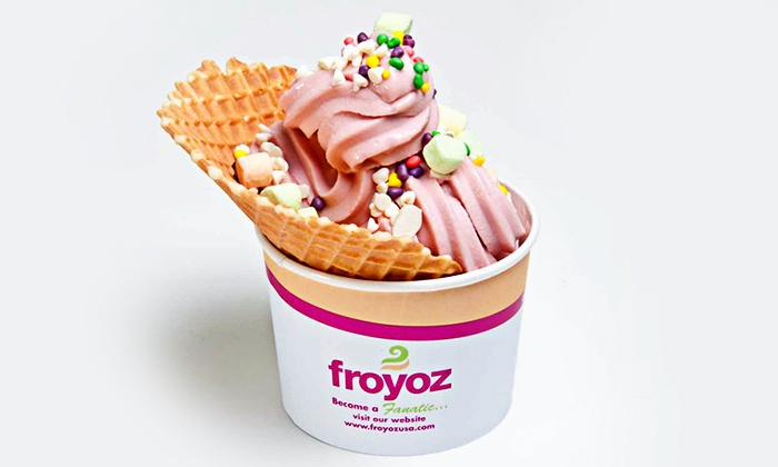 Froyoz - Knoxville: Frozen Yogurt at Froyoz in Bearden (50% Off). Two Options Available.