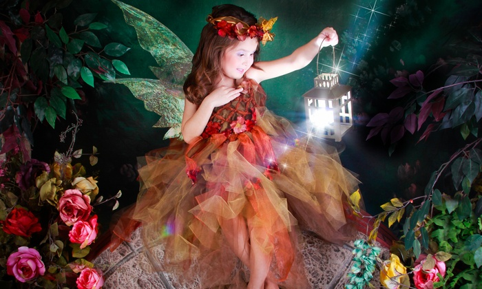 Rubi's & Diamonds Studio - Ruby Hill: $25 for a Fairy Photo Shoot with One Print or Digital Image at Rubi's & Diamonds Studio ($150 Value)