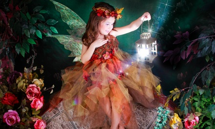 $23 for a Fairy Photo Shoot with One Print or Digital Image at Rubi's & Diamonds Studio ($150 Value)