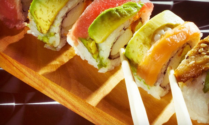 Mika Japanese Cuisine & Bar - Downtown: Prix Fixe Sushi Meal with Drinks for Two or Four at Mika Japanese Cuisine & Bar (Up to 65% Off)
