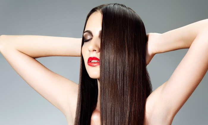 S.A.F.E. SALON - Northwest Harris: One, Two, or Three Keratin Hair-Smoothing Treatments at S.A.F.E. Salon (Up to 60% Off)