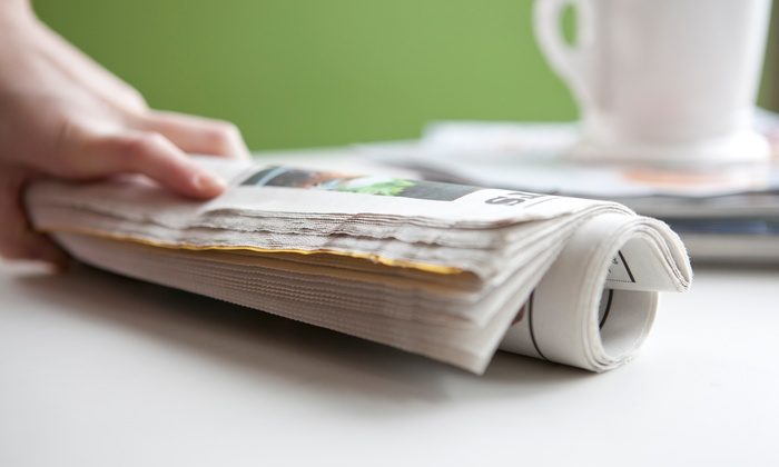 "The Dallas Morning News - Dallas: 13 Weeks of Sunday Print Delivery of ""The Dallas Morning News"" with Optional ePaper (Up to 83% Off)"