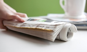 "The Dallas Morning News: 13 Weeks of Sunday Print Delivery of ""The Dallas Morning News"" with Optional ePaper (Up to 83% Off)"