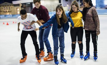 Up to 41% Off Ice Skating at ION International Training Center
