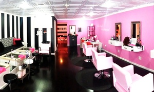 Glitz & Glamour: Playdate Package for Two or Four Girls Age 6–10 with Spa Services at Glitz & Glamour (Up to 67% Off)