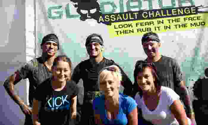 Gladiator Assault Challenge - Grand Geneva Resort: $ 55 for Entry to the Gladiator Assault Challenge Obstacle-Course Race on April 13 or 14 (Up to $ 150 Value)