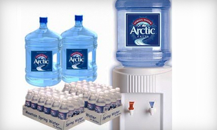 Arctic Falls - North Jersey: $59 for a Six-Month Family Four-Pack Bottled-Water Delivery Plan from Arctic Falls ($143.94 Value)