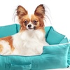 Turquoise Handle Pet Bed Cuddler