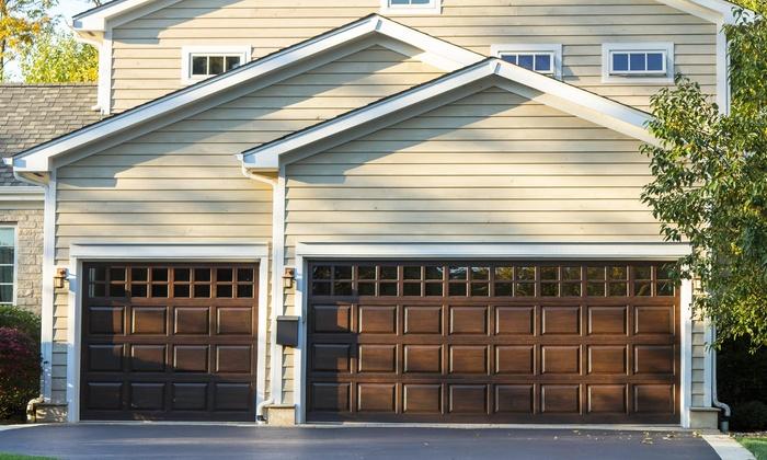 Garage Door Tune Up Triangle Garage Doors Llc Groupon