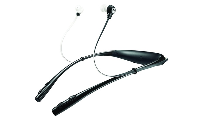 Motorola Buds SF500 Universal Bluetooth Stereo Earbuds with Mic