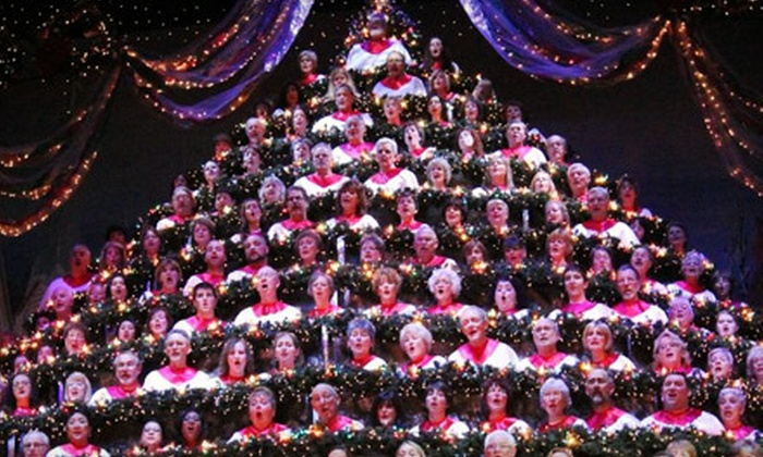 Singing Christmas Tree.Portland S Singing Christmas Tree Show Or Gala Night For Two At Keller Auditorium Half Off 16 Options Available