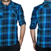 Clearance: Straightfaded Men's Woven Plaid Shirts (Size S)