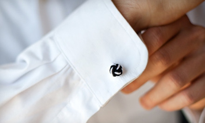 Cuff Daddy Silk-Knot Cufflinks: $12 for Five Sets Cuff Daddy of Silk-Knot Cufflinks ($49.99 Value)