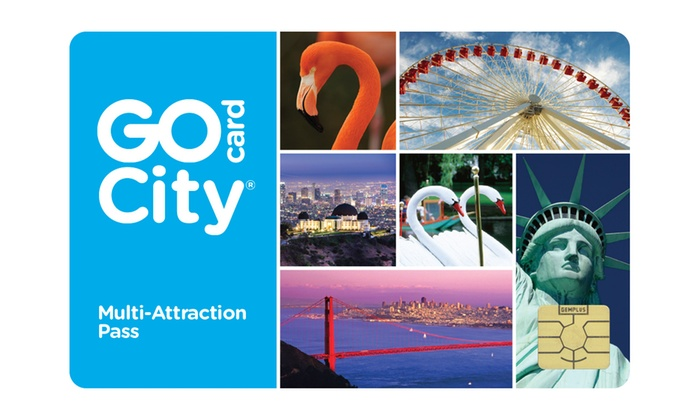 Smart Destinations: Two-Day All-Inclusive Go City Card Including Free Admission to Dozens of Popular Attractions