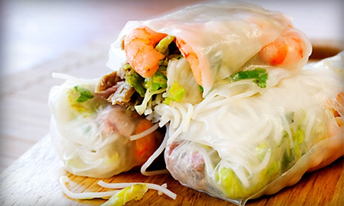 Asian Cafe - Juan Tabo: Asian Food at Asian Cafe (Half Off). Two Options Available.
