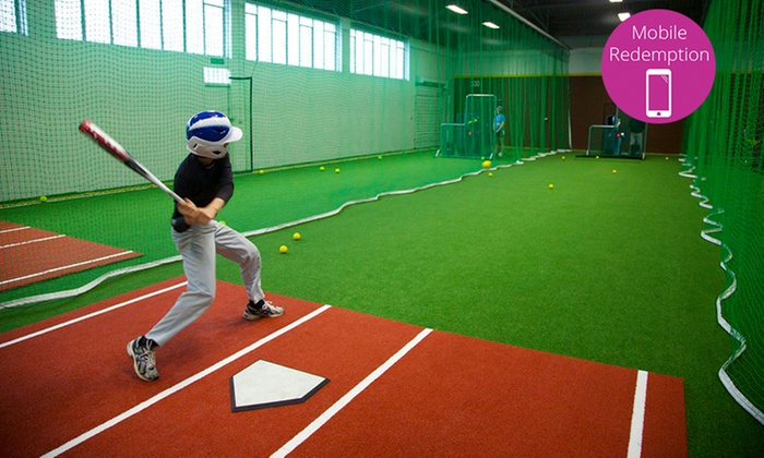 The Fieldhouse - The Fieldhouse East: $15 for 30-Minutes Access to a Batting Cage Lane for Two people at The Fieldhouse, Pakuranga (Up to $25 Value)