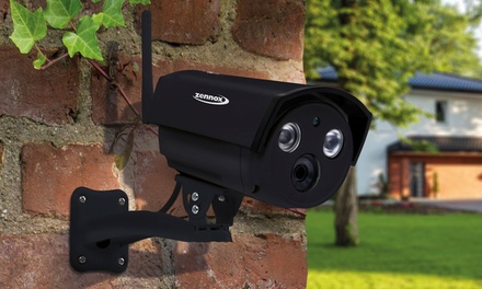 One, Two or Three Outdoor HD Wireless Surveillance IP Cameras With Free Delivery