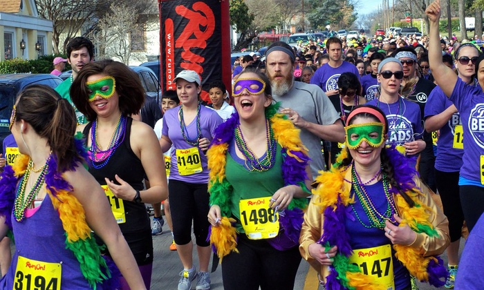 Dash for the Beads - Kidd Springs Park: Dash for the Beads 5K for One or Two on Saturday, February 6 (51% Off)