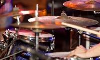 2x, 4x oder 6x 60 Min. Schlagzeugunterricht nach Wahl bei School of Groove (bis zu 76% sparen*)