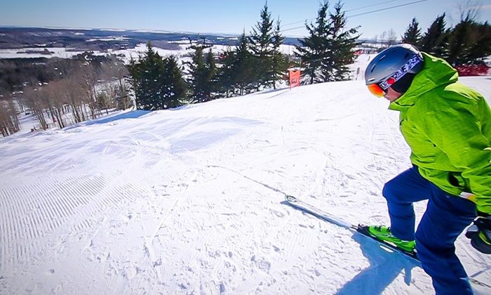 Mansfield Ski Club - Mansfield Ski Club: Skiing & Snowboarding Lift Tickets with Option for Equipment Rental at Mansfield Ski Club (Up to 54% Off)