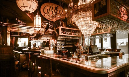 $65 for a 6-Course Dinner-Show for Two at the House of Jazz in Montreal (Up to $127.40 Value)