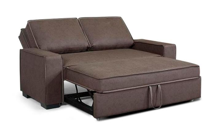 Divano letto supreme groupon goods for Struttura letto divano
