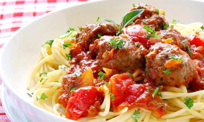 La Vita Mia - Downtown Saugus: Italian Dinner at La Vita Mia (45% Off). Two Options Available.