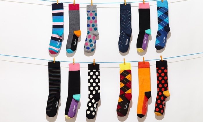 Happy Socks: $22 for a 3-Pack of Happy Socks ($36 List Price). Multiple Colors Available. Free Shipping.