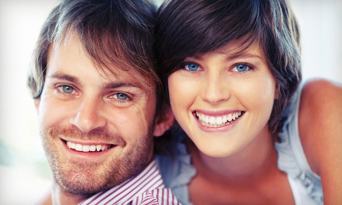 Pearly Whites - Central St. Boniface: One or Two Teeth-Whitening Sessions at Pearly Whites (Up to 54% Off)