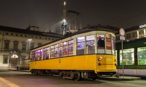 Discotram: Party in giro per Milano in tram storico con Dj set, spumante, bartender professionisti con Discotram (sconto 28%)