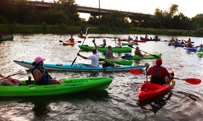 Bayou Kayaks - Bayou St. John: $20 for $40 Toward Kayak and Paddleboard Rentals from Bayou Kayaks