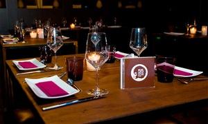 55 Polo Club: Cena degustación para 2 o 4 personas con botella de vino, postre y combinado (con DJ) desde 29,95 € en 55 Polo Club