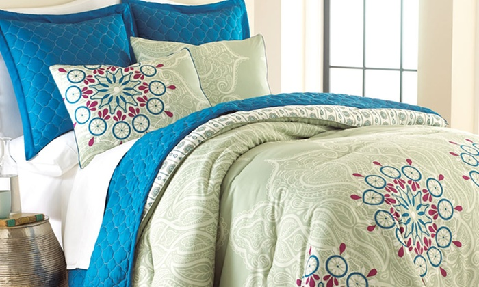 6-Piece Comforter and Coverlet Sets: 6-Piece Comforter and Coverlet Sets. Multiple Styles Available. Free Returns.
