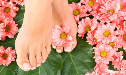 One or Three Mani-Pedis at Broadway Nail & Spa (Up to 55% Off)