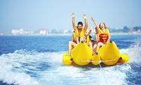 Paseo en banana acuática para 2, 4, 6 u 8 personas desde 16,95 € en My Love Boat Yacht, 3 localizaciones disponibles