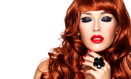 $35 for Haircut and Color or Partial Highlights at Farah's Place Salon & Aesthetics ($173 Value)
