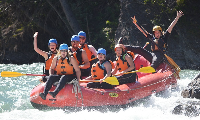 Canadian Rockies Adventure Centre - Rafting Base: Kananaskis or Bow River Rafting Trip for One, Two, or Four from Canadian Rockies Adventure Centre (Up to 59% Off)