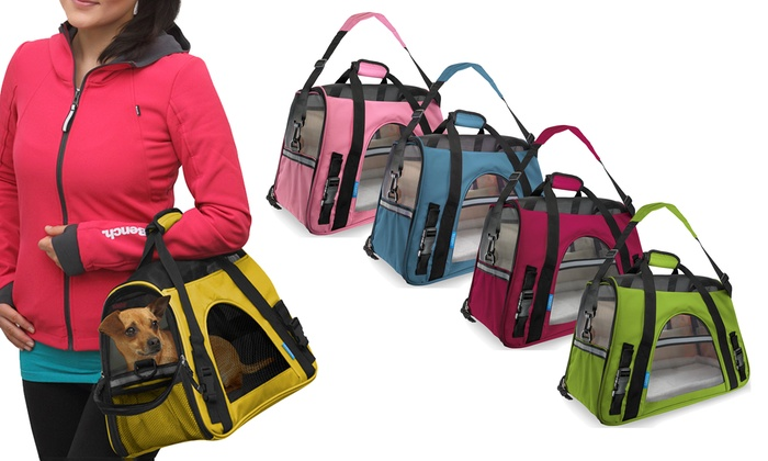 d9dd5e50ec13 Soft-Sided Airline Approved Travel Pet Carrier